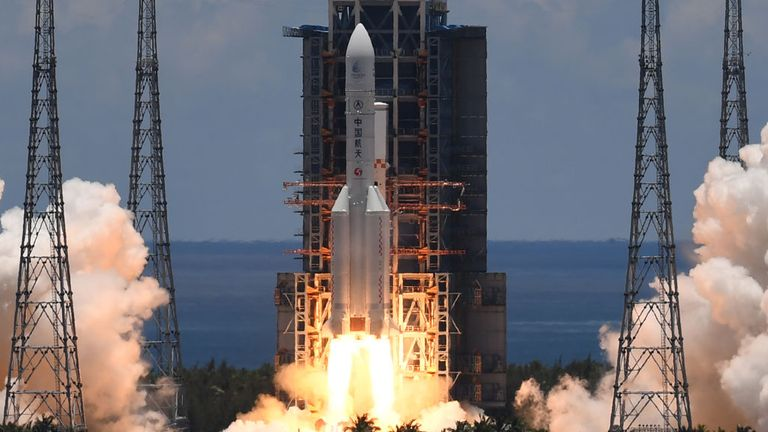 Tianwen-1 was launched successfully from Hainan Island off the south coast of China