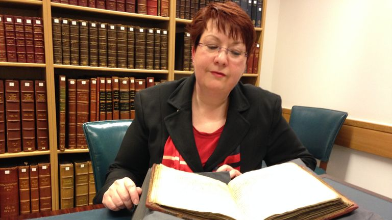 Dr Christina Lee was able to read the Leechbook. Pic: University of Nottingham