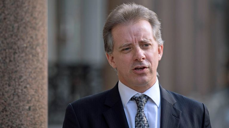 The privately-funded dossier is linked to the former spy Christopher Steele