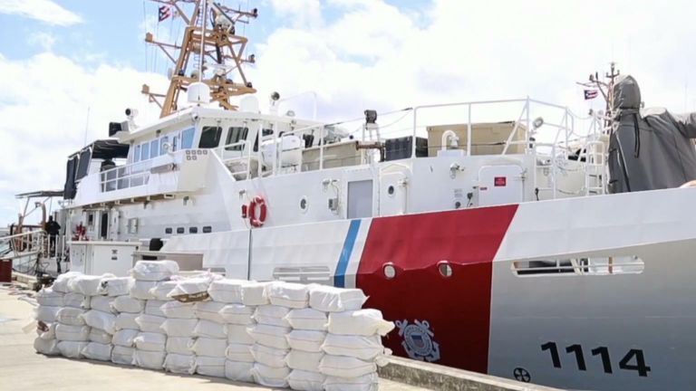 Cocaine seized in Puerto Rico