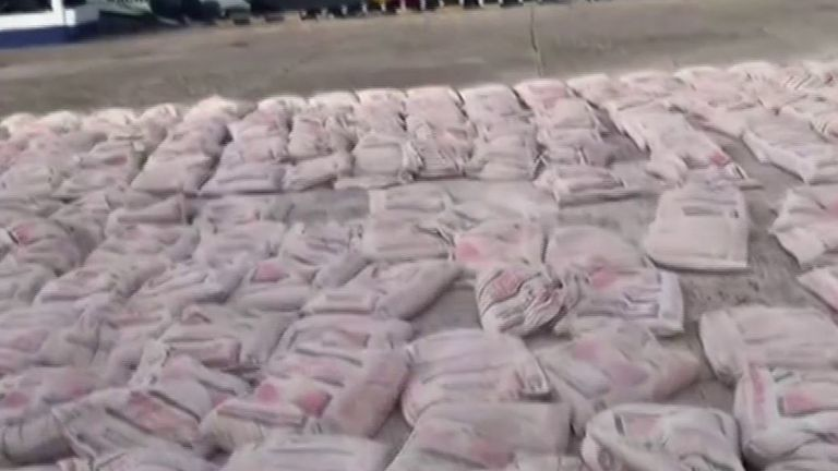 Colombia and US seize monster cocaine haul