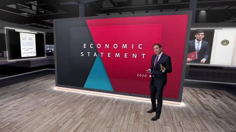 Economy screen