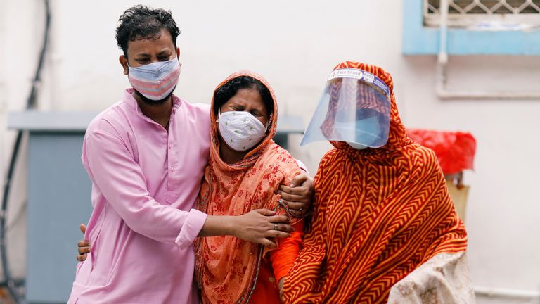 The coronavirus disease (COVID-19) outbreak in New Delhi