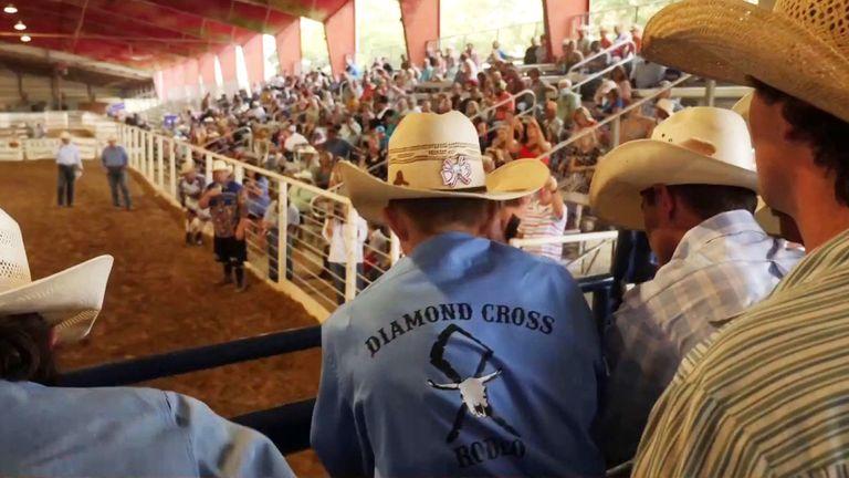 Alex Crawford Texas bullfight bullfighting masks social distancing coronavirus