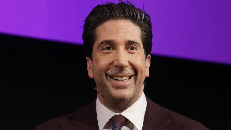 David Schwimmer said the Friends reunion could begin filming next month