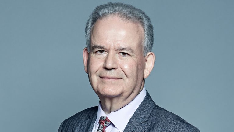 Tory MP Dr Julian Lewis. Pic: UK Parliament