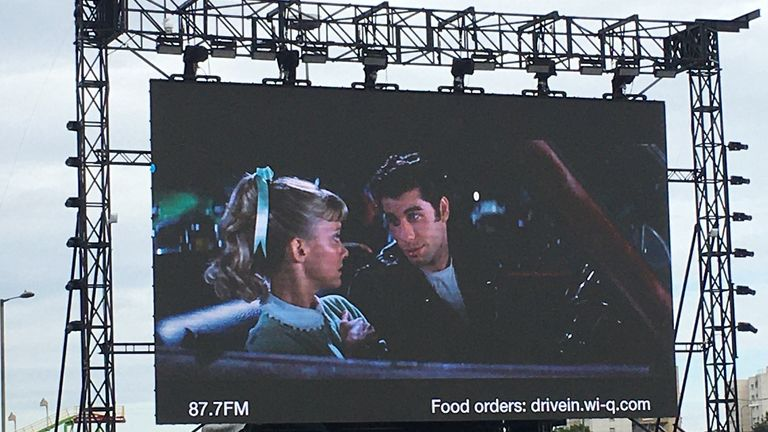 Grease at The Drive-In Club. Pic: Grease/Paramount/Park Circus