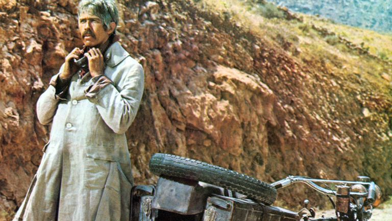 James Coburn in Duck You Sucker (also known as A Fistful Of Dynamite), 1971. Pic: Moviestore/Shutterstock