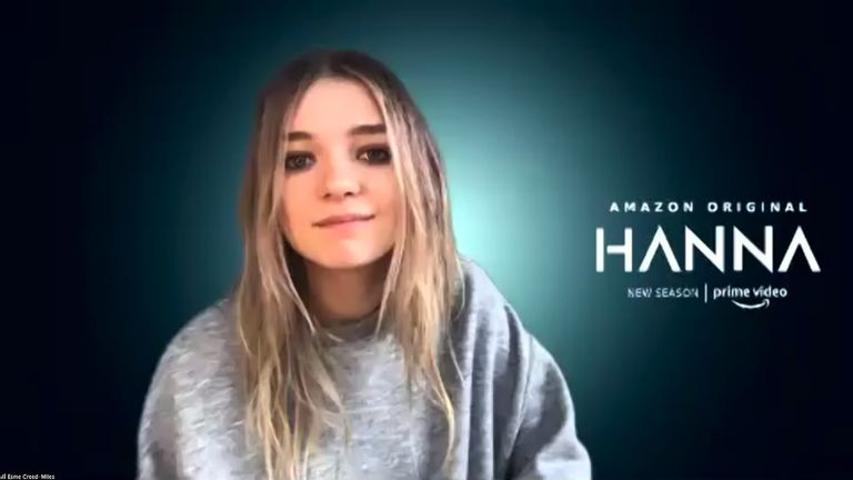 Esme Creed-Miles on upcoming second series of Hanna