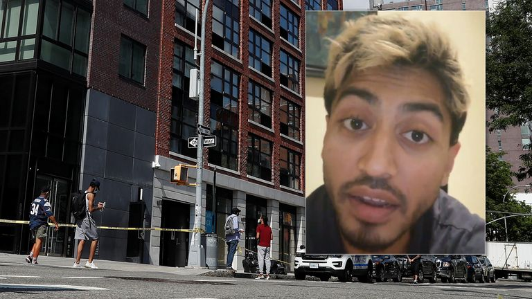The apartment complex at 265 Houston Street, where Fahim Saleh, Co-founder/CEO of Gokada, was found dead is seen in New York City, New York, U.S., July 15, 2020.  REUTERS/Shannon Stapleton