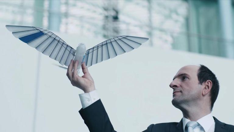 Festo's robot birds