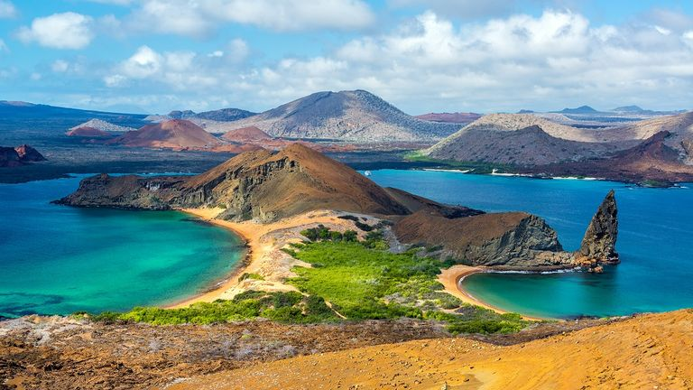 The Galapagos Islands were the inspiration for Charles Darwin's theory of evolution