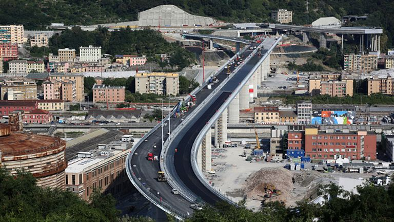 The new bridge is due to be inaugurated in the first days of August