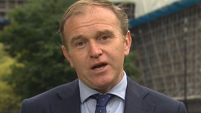George Eustice says he's 'not sure' about the threat to security potentially posed by Huawei