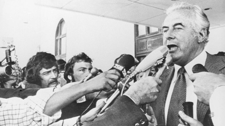 , Queen wasn't told in advance about sacking of Australian PM Gough Whitlam, letters reveal | UK News