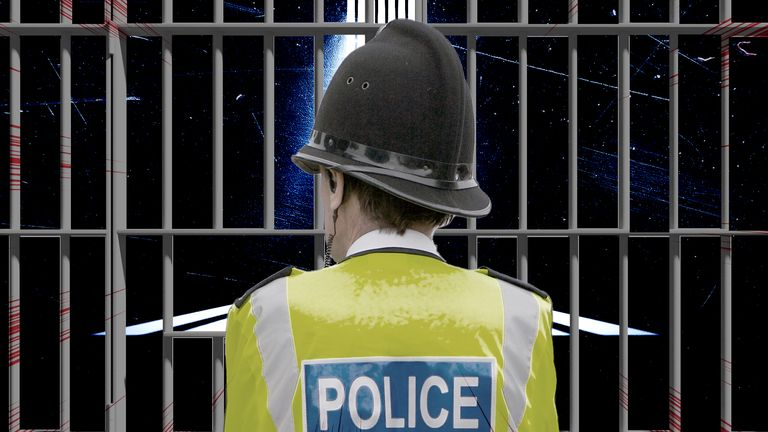 More than 200 serving police officers in the UK have convictions for criminal offences