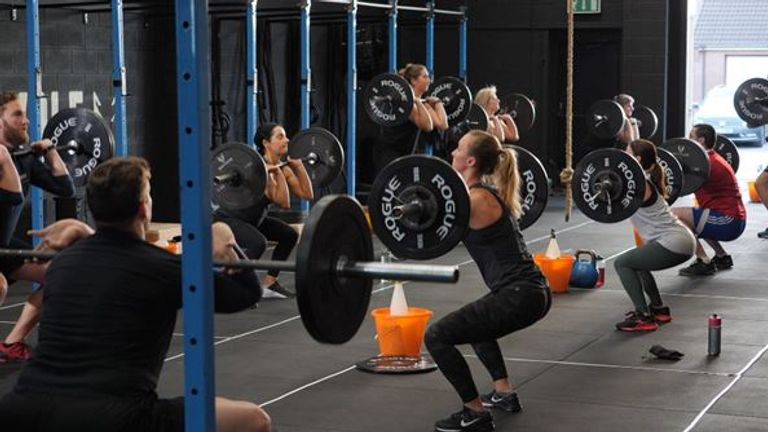 White Wolf CrossFit gym in Lisburn, County Antrim