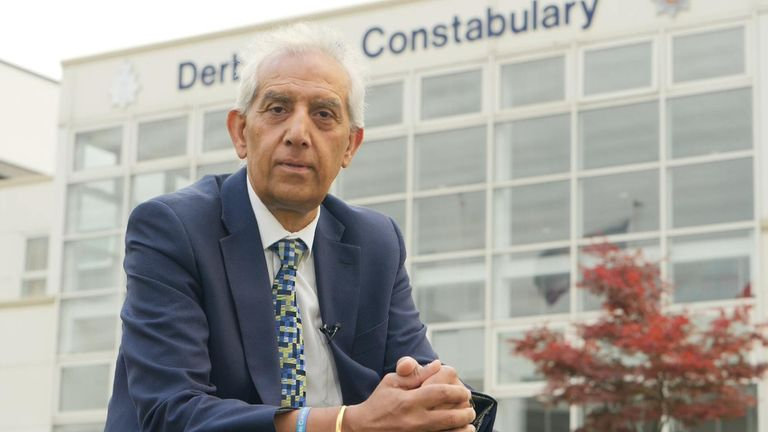 Hardyal Dhindsa, Police and Crime Commissioner for Derbyshire since 2016.