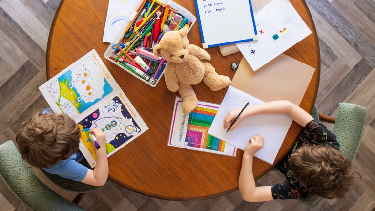 Parents blamed a lack of guidance, support and motivation for their difficulties with home schooling