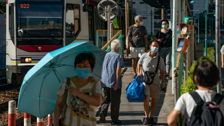 Public gatherings of more than two people will be banned in Hong Kong from Wednesday