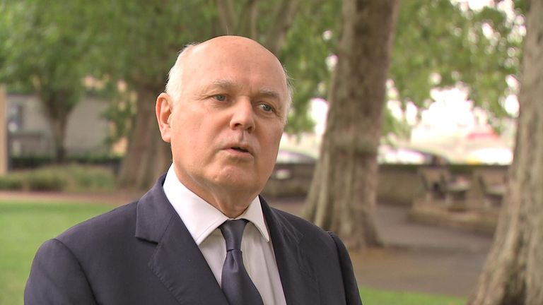 Iain Duncan Smith warned the UK needs to urgently look at its relationship with China
