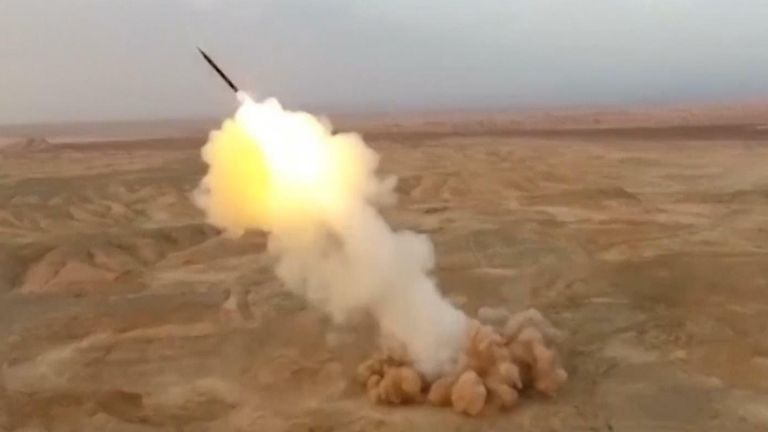 Iran fires underground missiles in exercises