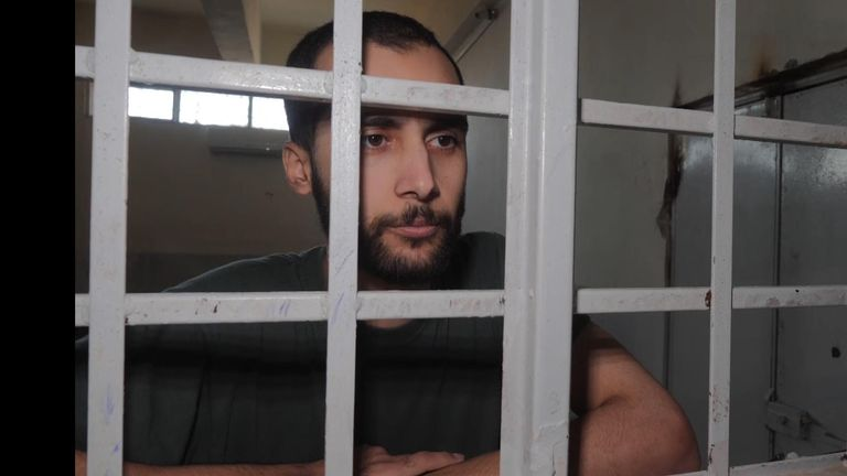 Ishak Mostefaoui was interviewed by Sky News in November last year having been held in the prison since March 2019.