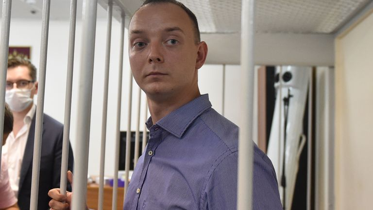 Ivan Safronov is due in court on Monday to face charges of alleged treason