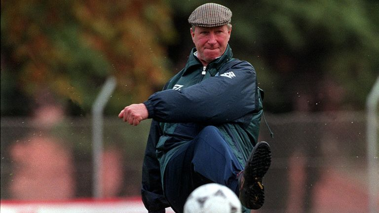 Jack Charlton as Ireland manager