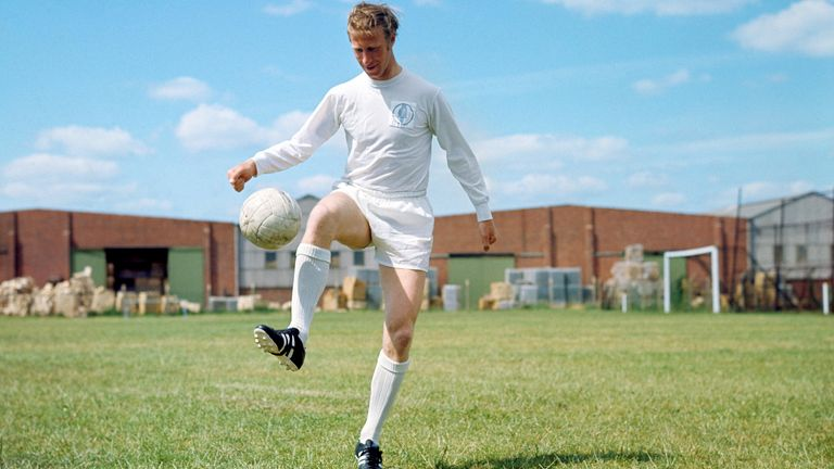 Jack Charlton made a record 773 appearances for Leeds United over a 23-year career as a player