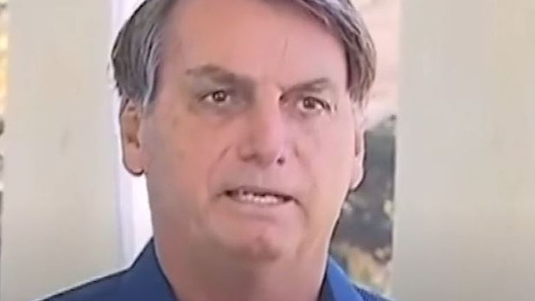 Jair Bolsonaro has coronavirus but is 'fine'