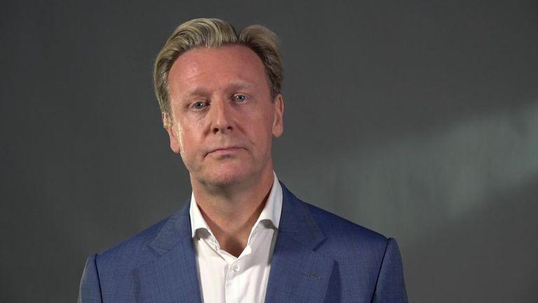 Chairman of Airbus UK John Harrison