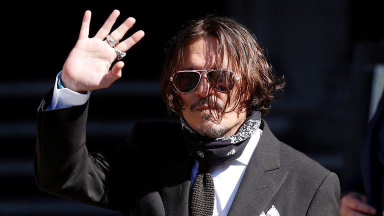 , Johnny Depp trial: Distressing audio of actor asking ex-wife Amber Heard to 'cut him' played in court | Ents & Arts News