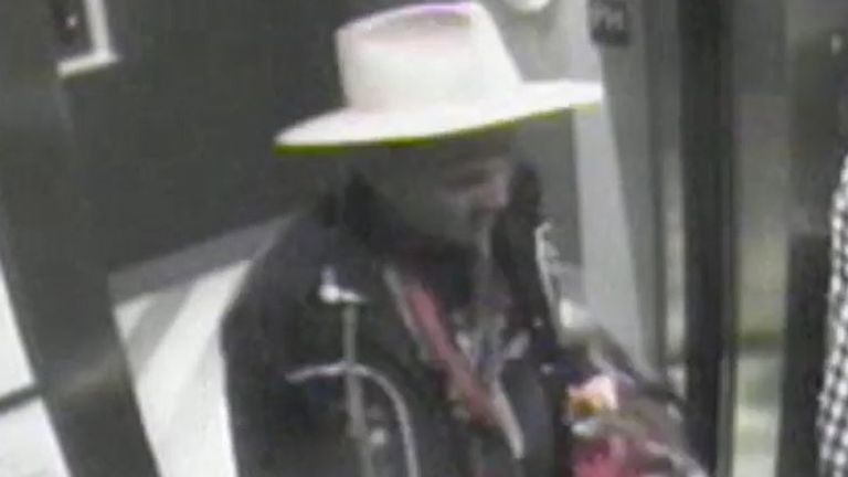 CCTV allegedly shows Johnny Depp in a lift after an argument with Amber Heard