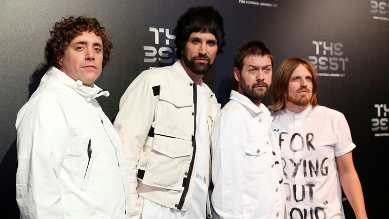 Tom Meighan (2nd from right) is a founding member of Kasabian but quit the day before he appeared in court