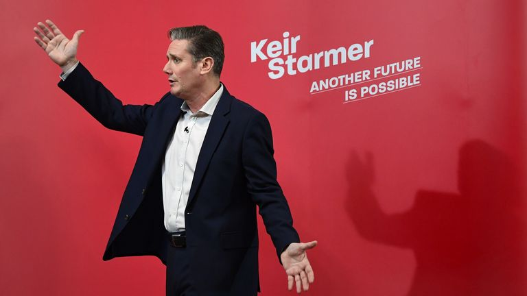 Labour leader Sir Keir Starmer