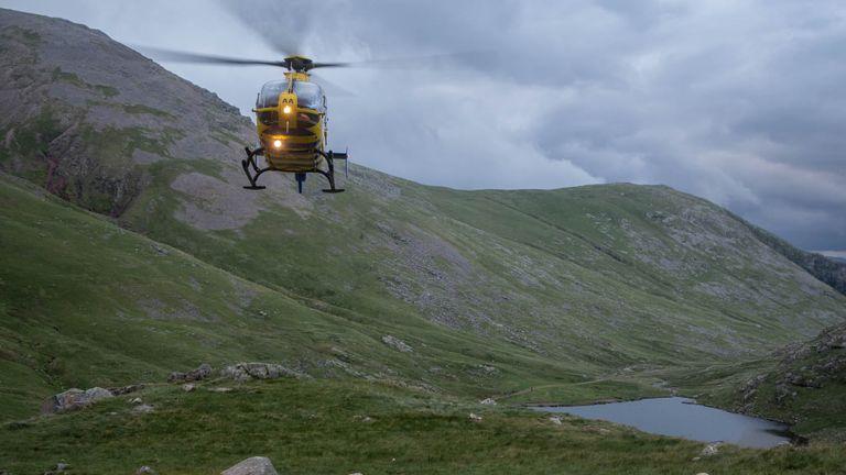Pic: Keswick Mountain Rescue Team