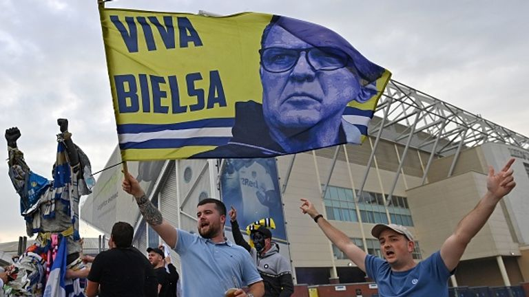 The West Yorkshire club has gone up under Argentinian manager Marcelo Bielsa