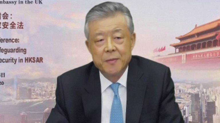 Liu Xiaoming is China's Ambassador to the UK