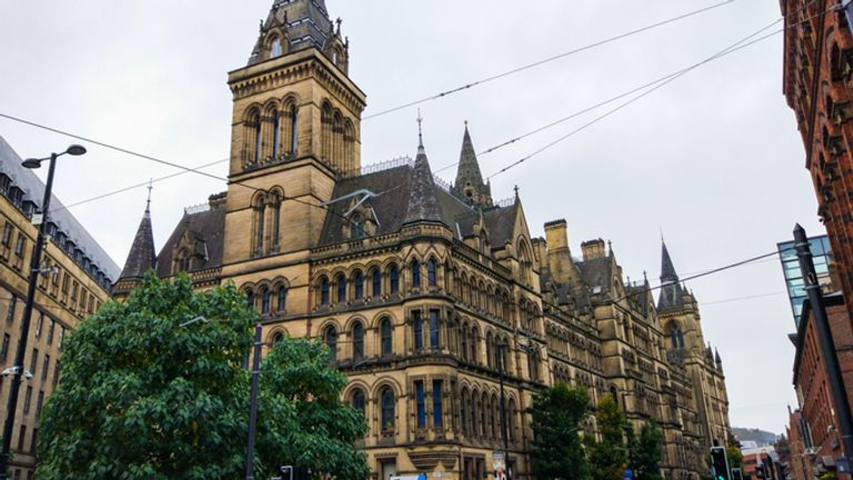 Manchester Council is one of those with an underrepresentation of BAME councillors compared with its population