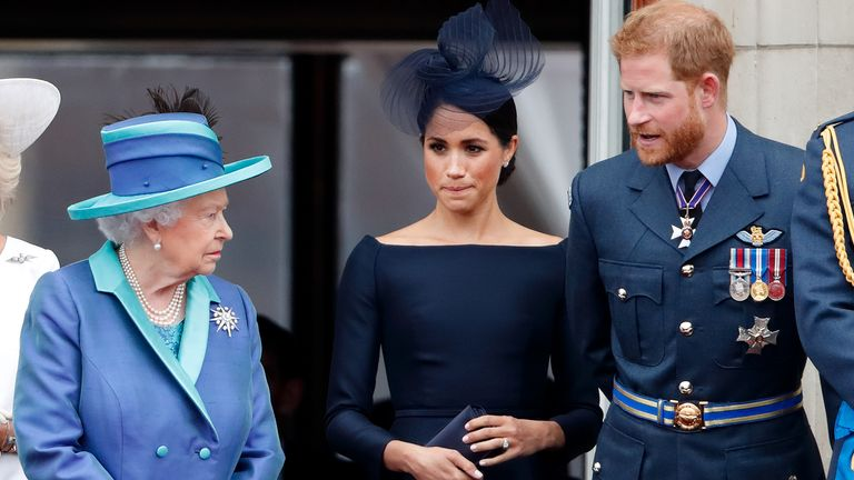 Harry and Meghan nearly broke protocol to make an unscheduled visit to see The Queen