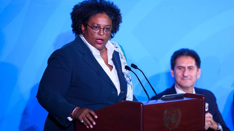 Mia Amor Mottley is considering introducing a 'Barbados Welcome Stamp'