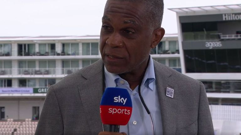 Cricket commentator and ex-player speaks about how the colour black is portrayed in society