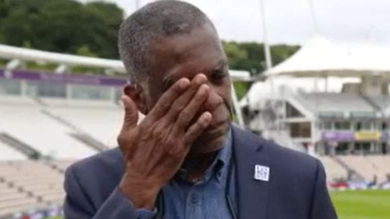Michael Holding breaks down thinking of racism his parents endured