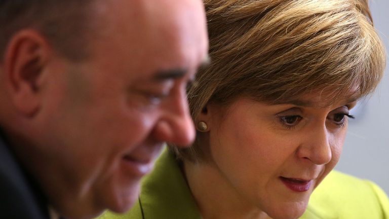 Ms Sturgeon told parliament Mr Salmond informed her about the allegations on 2 April 2018.
