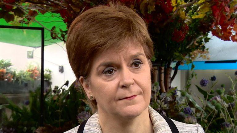 Nicola Sturgeon has said people need to remember 'the virus hasn't gone away'
