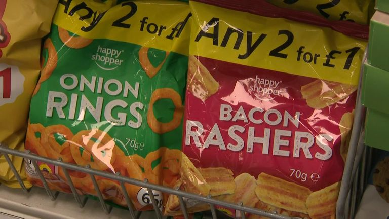 The new government plans ban buy one get one free promotions on unhealthy snacks
