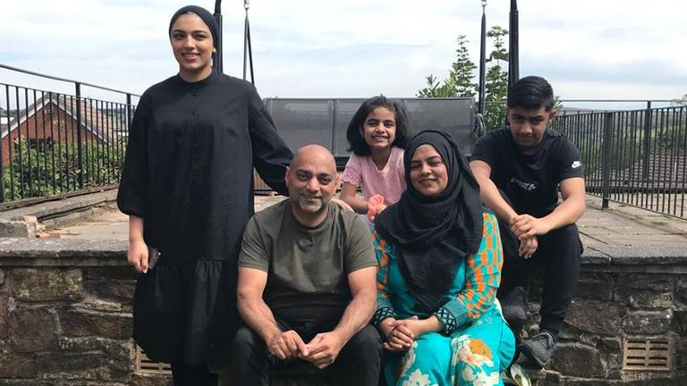 The Ashraf family have cancelled their Eid celebrations for this year