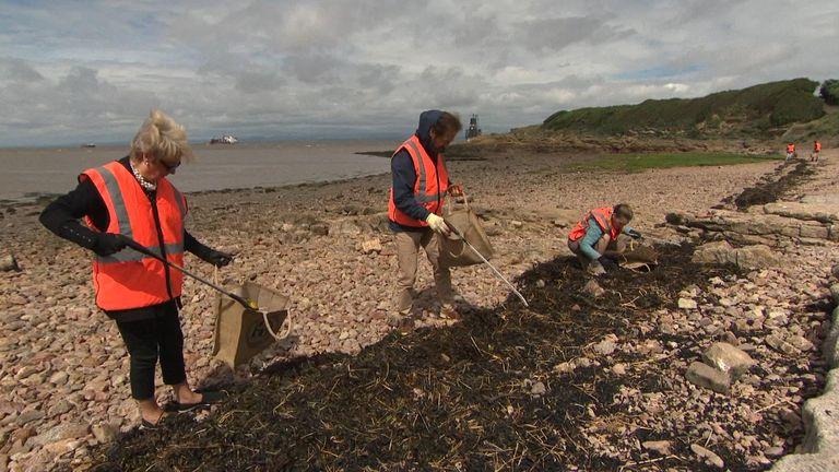 Clean up plastics Bristol