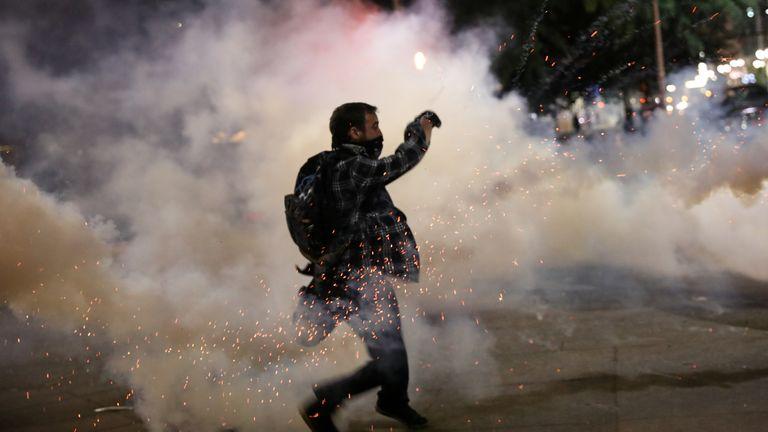 Clashes in Portland continue